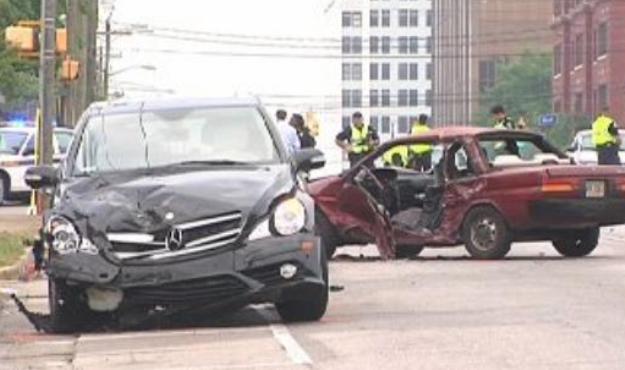 benjamin car crash