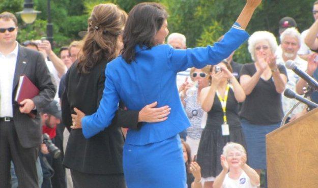 Nikki Haley   Sarah Palin   endorsement