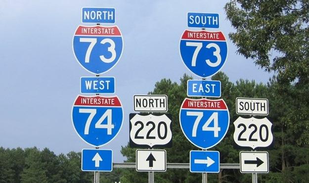 interstate 73 stickler