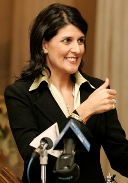 HALEY: LESS GOVERNMENT?