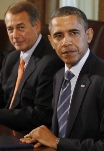 Obama and Boehner: Middle Class champions?