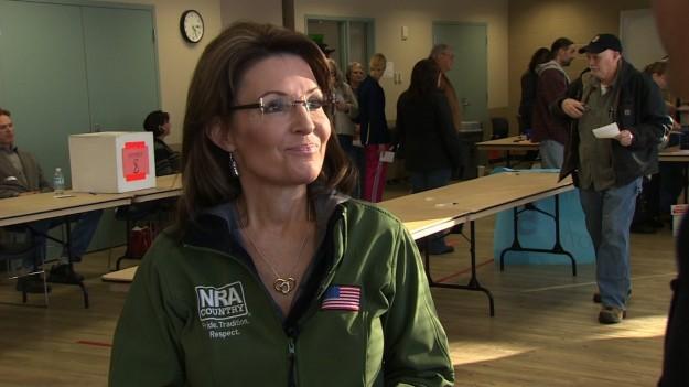 Sarah Palin Gives CNN Exclusive Interview