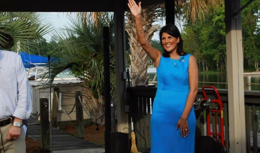 Gov. Nikki Haley made a 2016 presidential shortlist this week ...