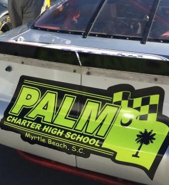 "A ""PALM"" STOCK CAR"