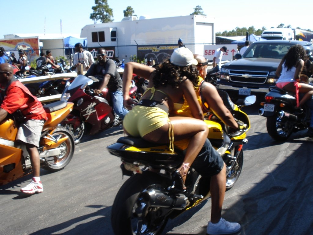 Black Bike Week Is A Down Coming