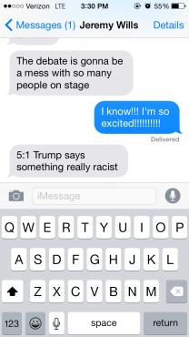 debate text