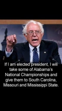 bernie alabama