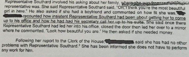 southard complaint