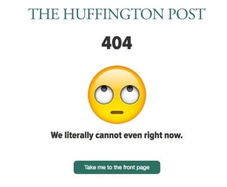 huff po 404