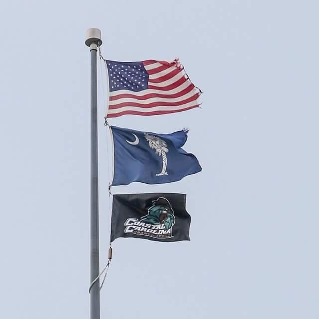 coastal carolina flag
