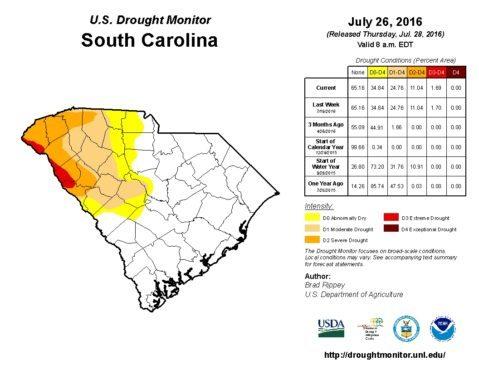 drought sc july 26