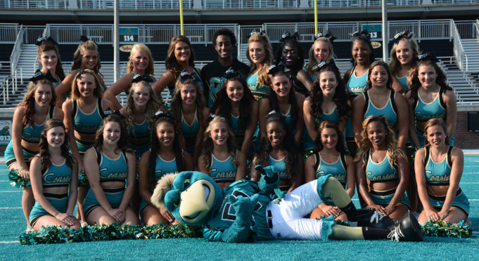 Coastal Carolina University cheerleaders in prostitution scandal