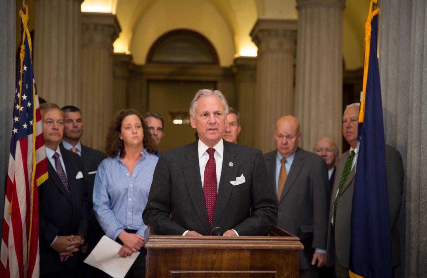 Image result for henry McMaster announcement campaign