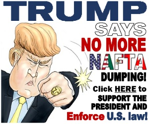 Trump Says No to NAFTA Dumping