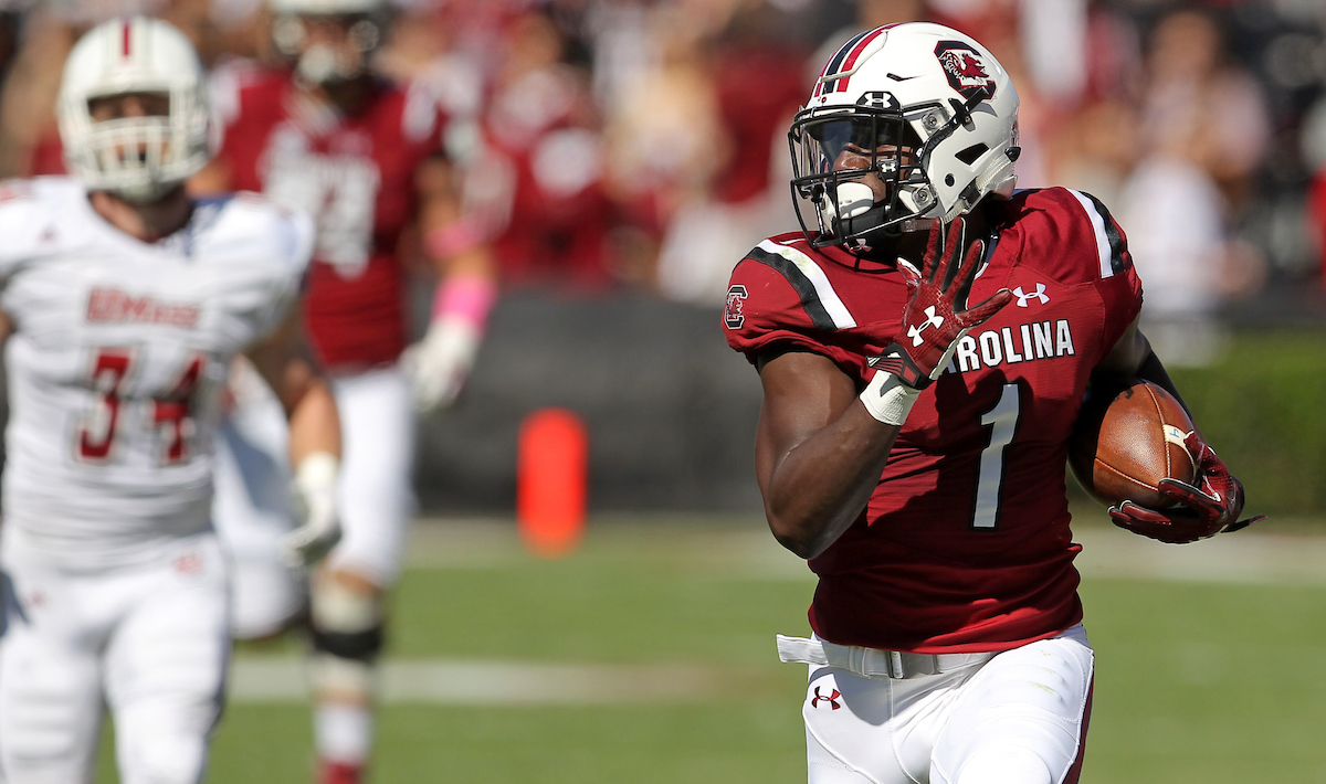 Receiver Deebo Samuel key to South Carolina's strong start