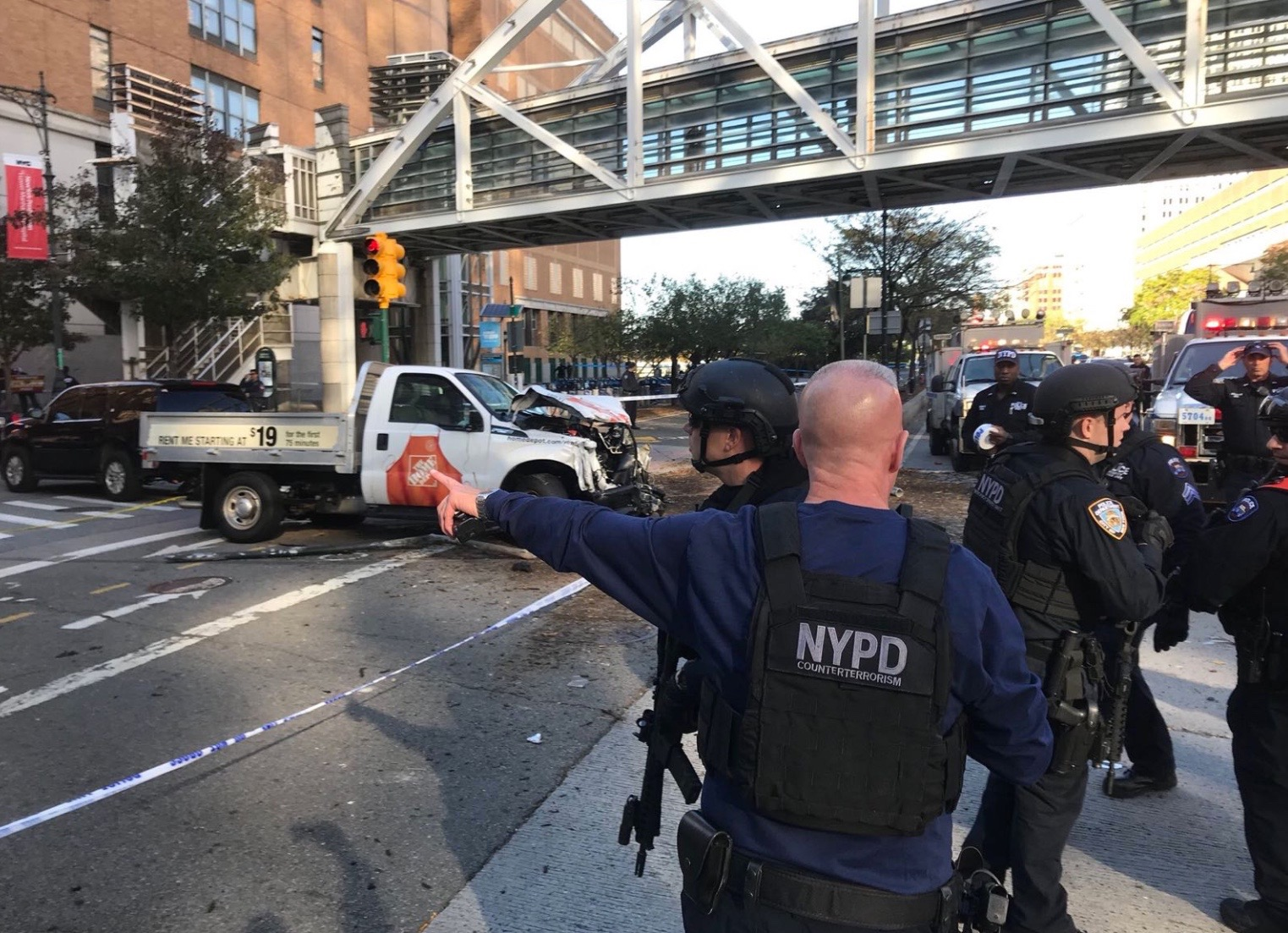 Image result for Oct 31, 2017 terrorist attack in new york city terrorist attack bike path