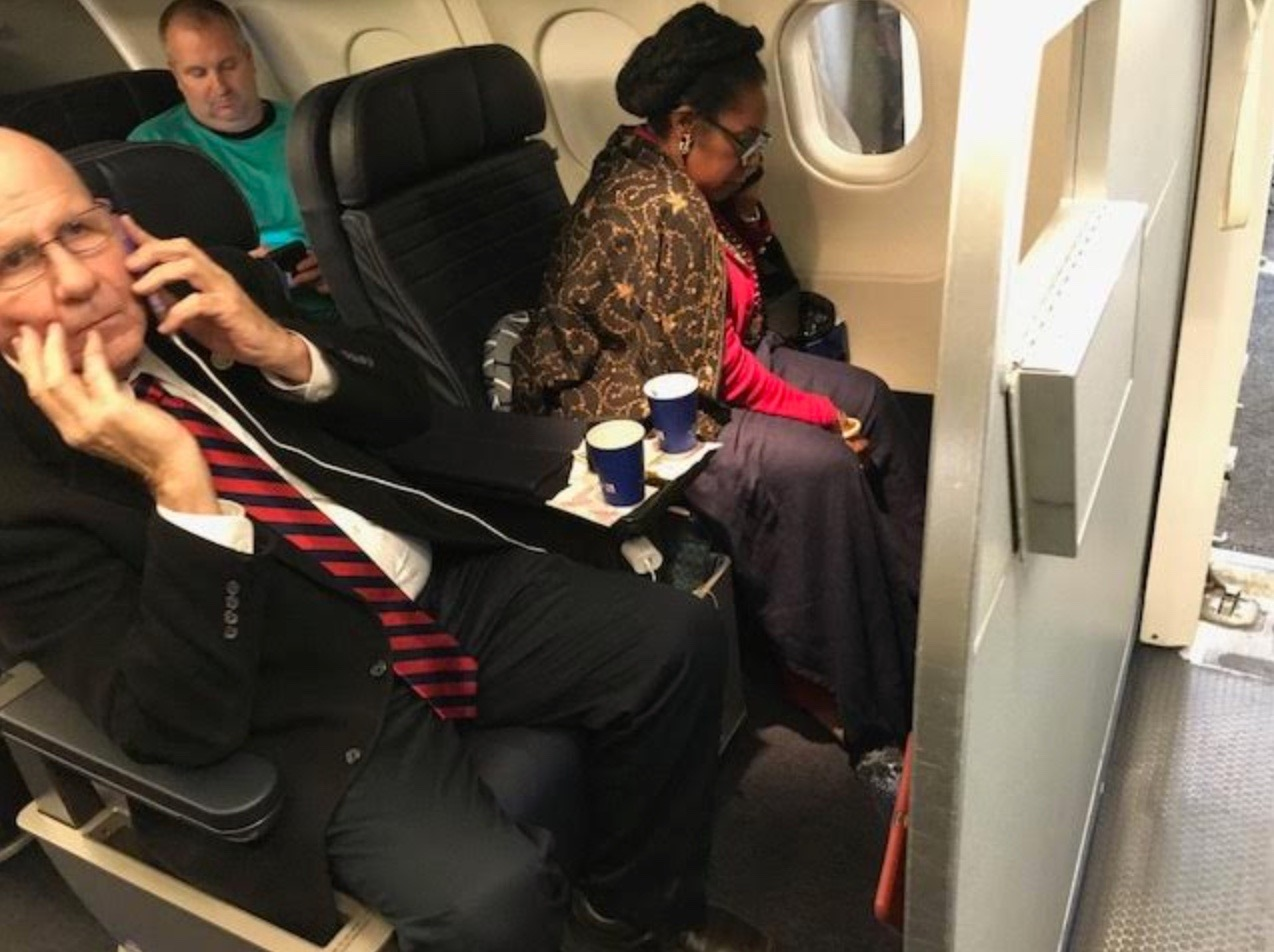 Congresswoman Sheila Jackson Lee Says Racism Was Part of Airline Seat Mishap