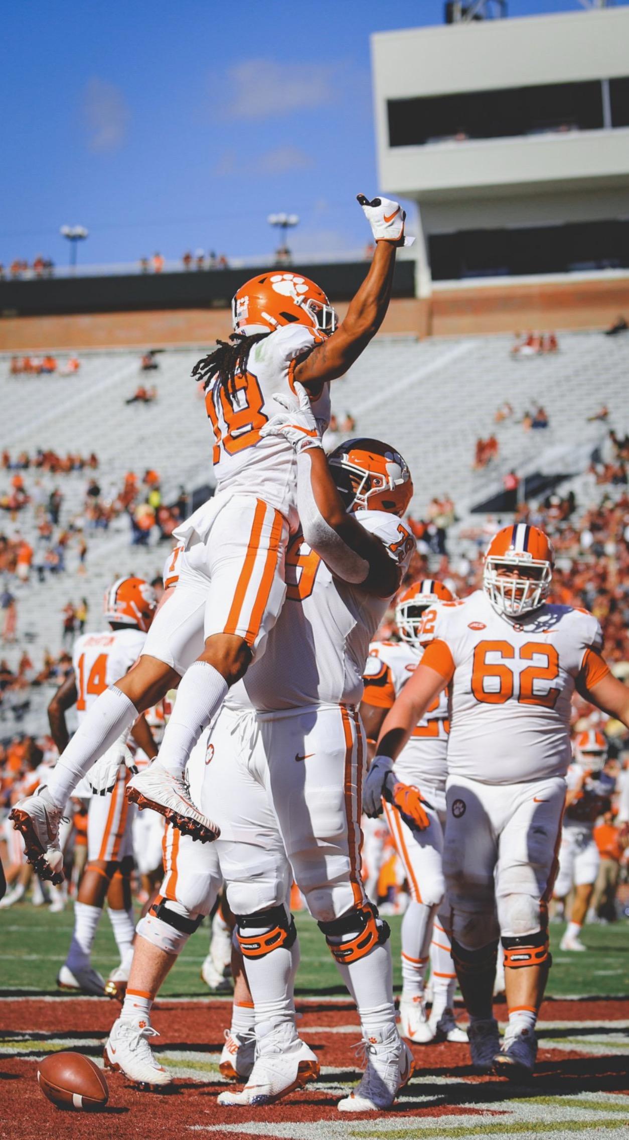 Clemson FSU touchdown