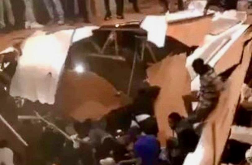 Dozens injured when apartment floor collapses near Clemson University