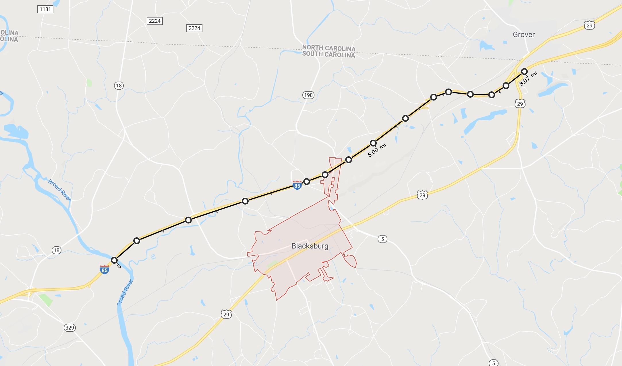 blacksburg jurisdiction