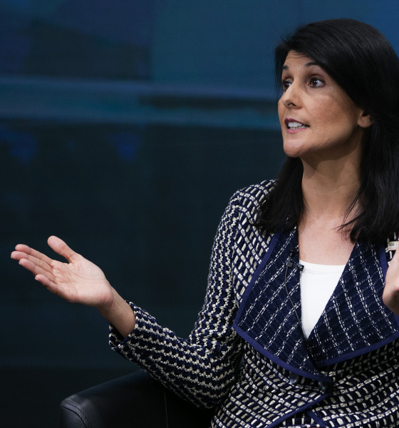Nikki Haley Founds Brain Trust to Tackle 'Dangers' Russia, China, Iran