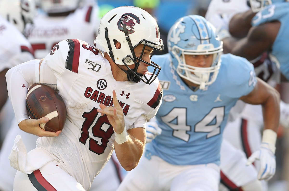South Carolina QB Bentley expected to miss at least six weeks