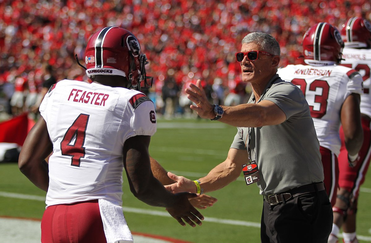 Top Gamecocks receiver likely out for Clemson game