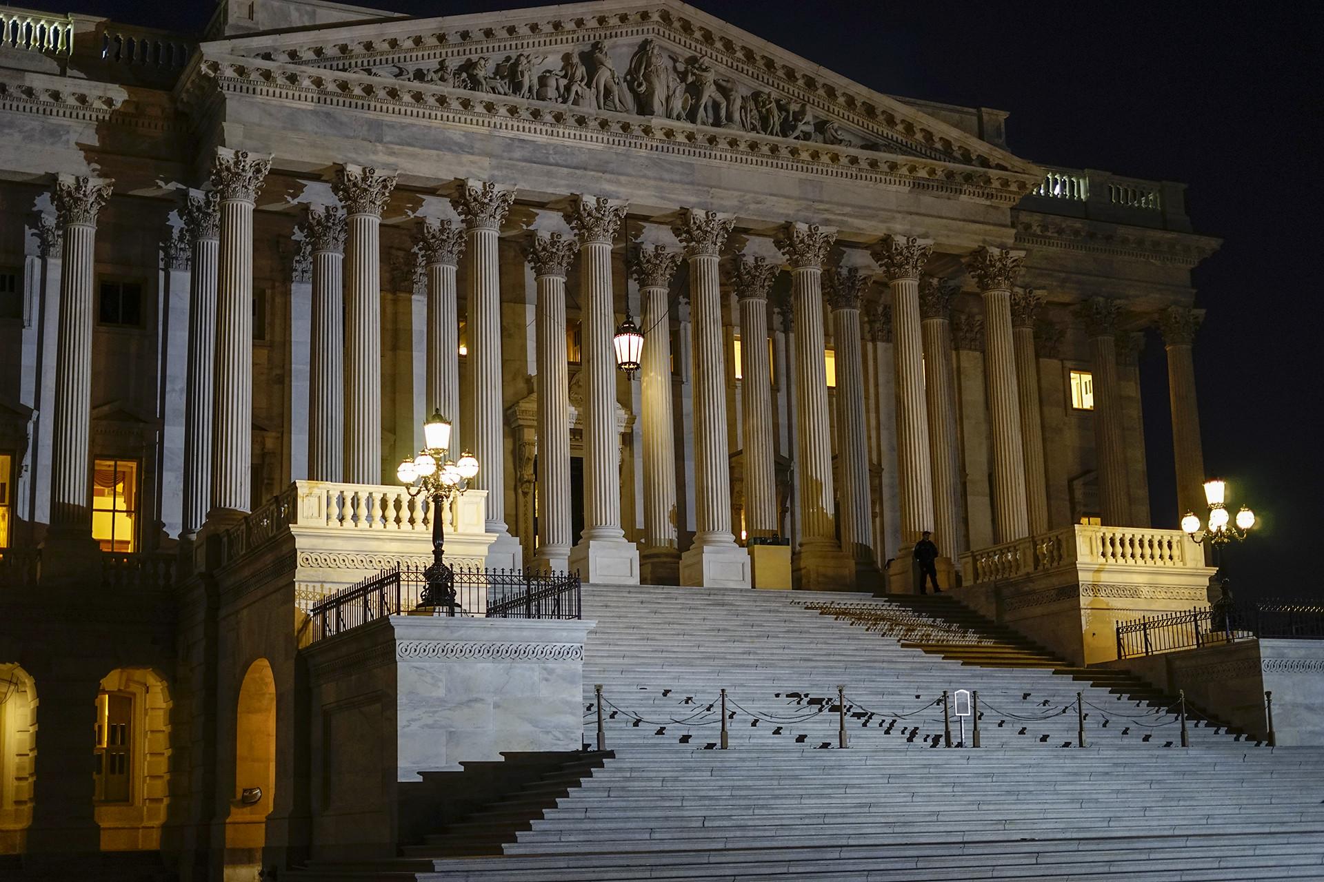 Trump wants impeachment trial in Senate with Bidens, whistleblower testifying - Spokesman