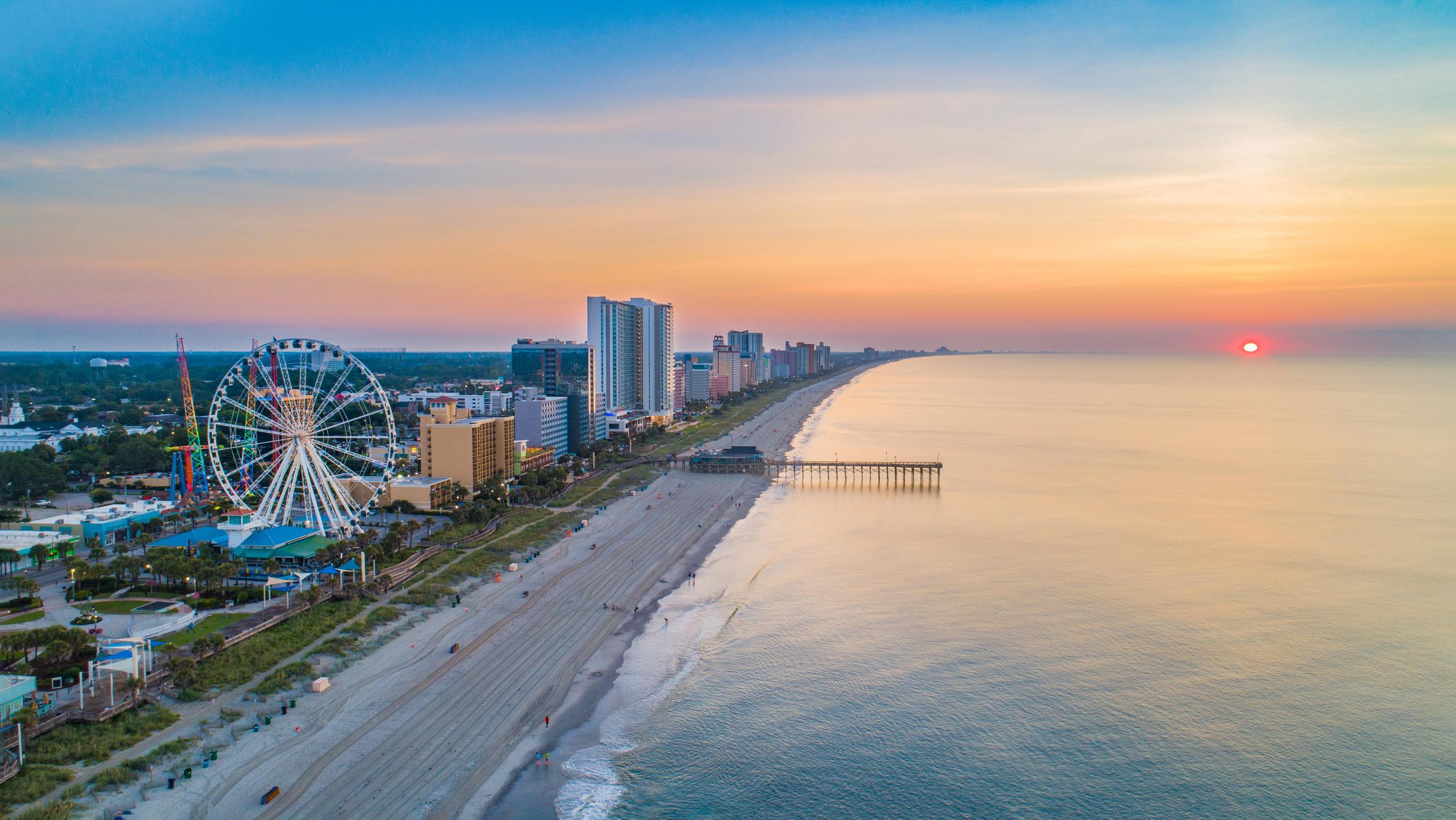 Myrtle Beach South Carolina Sc Skyline