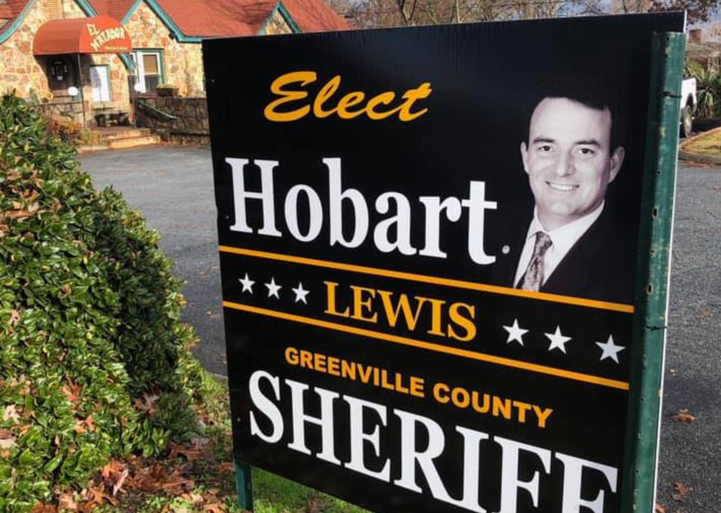 FITSNews – Hobart Lewis Crushes A.T. Smith In Greenville Sheriff's Runoff