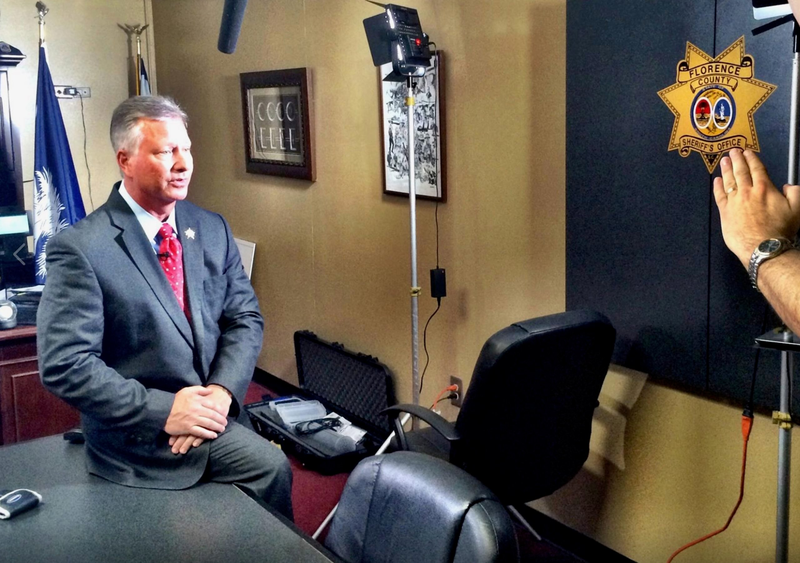 Suspended SC Sheriff Kenney Boone