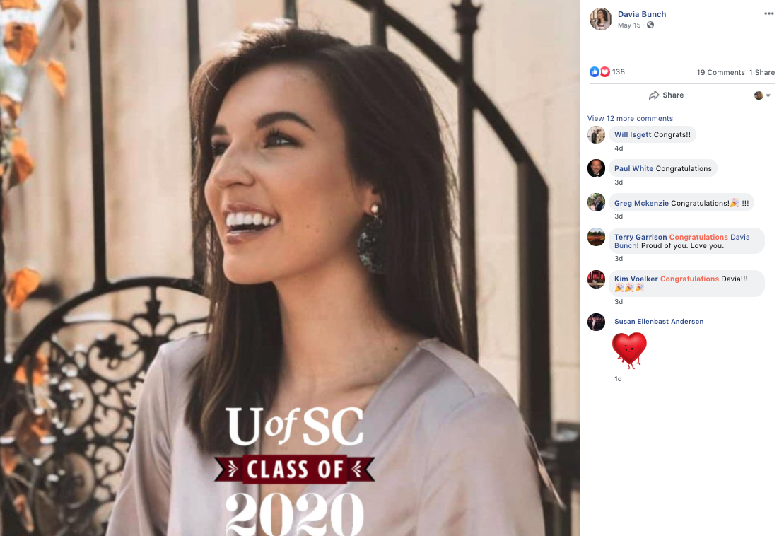 University Of South Carolina Student